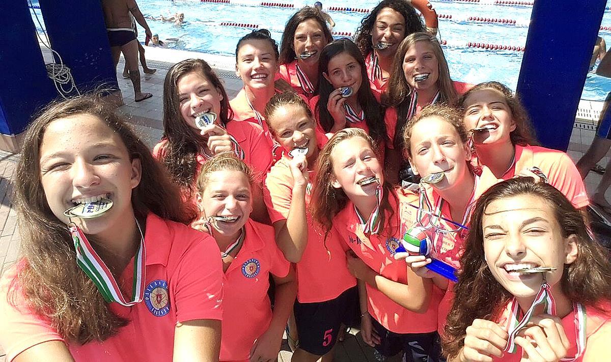 Under 15 femminile: la Pallanuoto Trieste è terza in Italia!