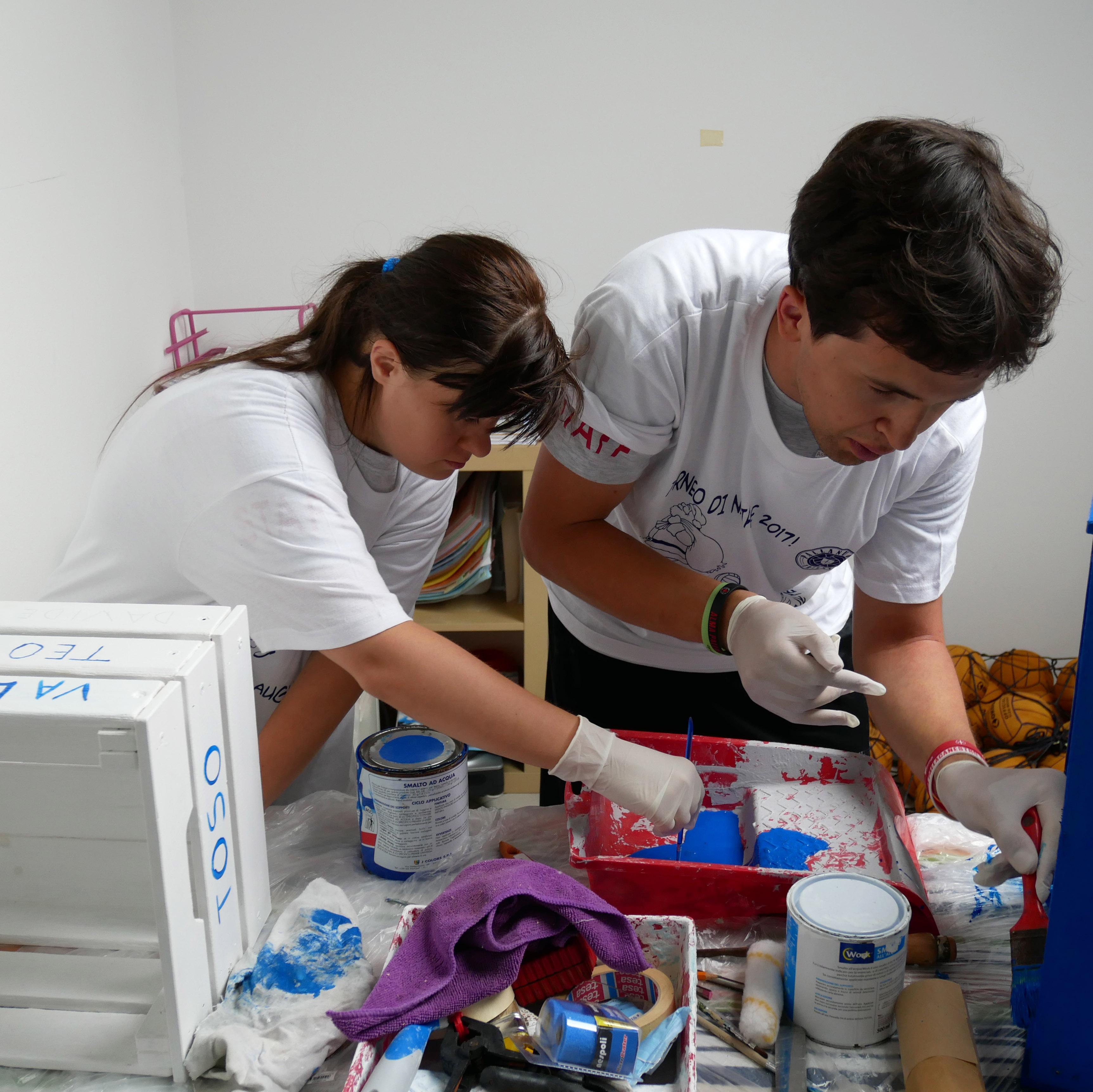 Piscina di San Giovanni: riuscito progetto di esperienza lavorativa integrata per cinque ragazzi della Calicanto Onlus