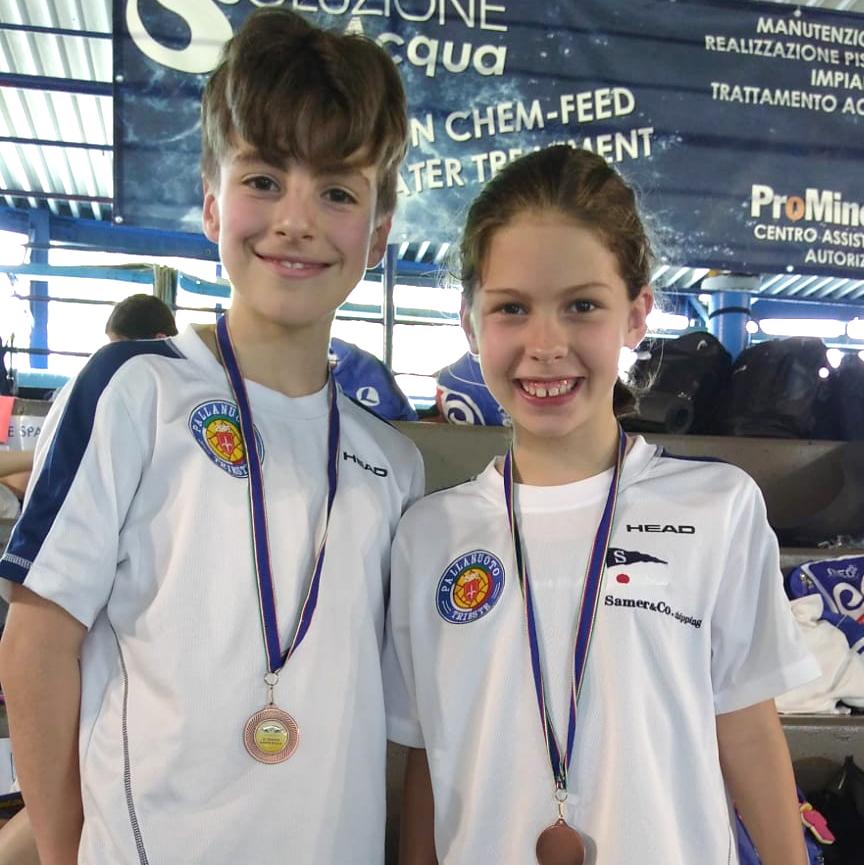 Nuoto, Esordienti: buoni riscontri per gli atleti della Pallanuoto Trieste al Trofeo Santa Giulia di Brescia