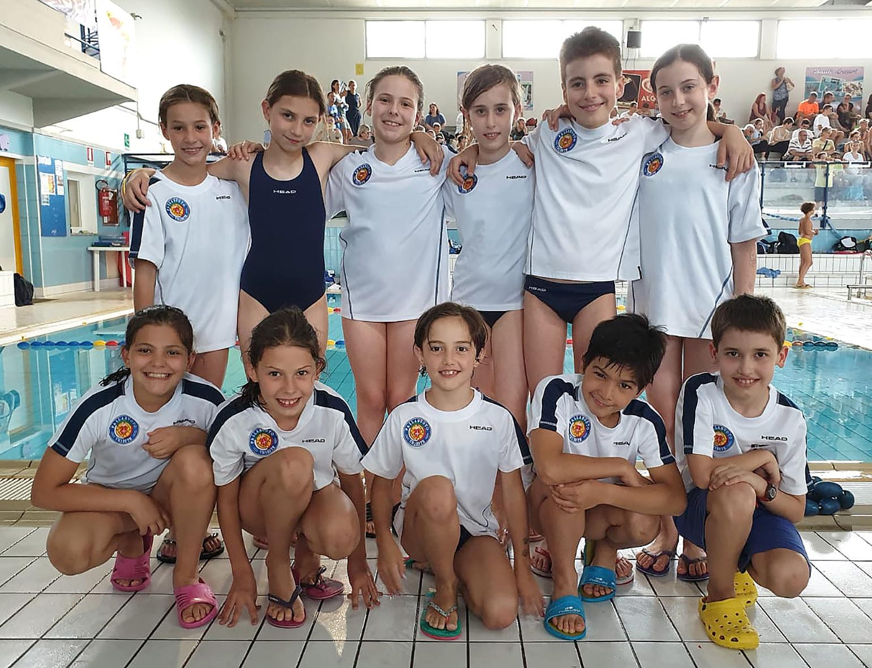 Nuoto, Esordienti B: tanti buoni risultati per i piccoli della Pallanuoto Trieste alla Junior Class di Gorizia