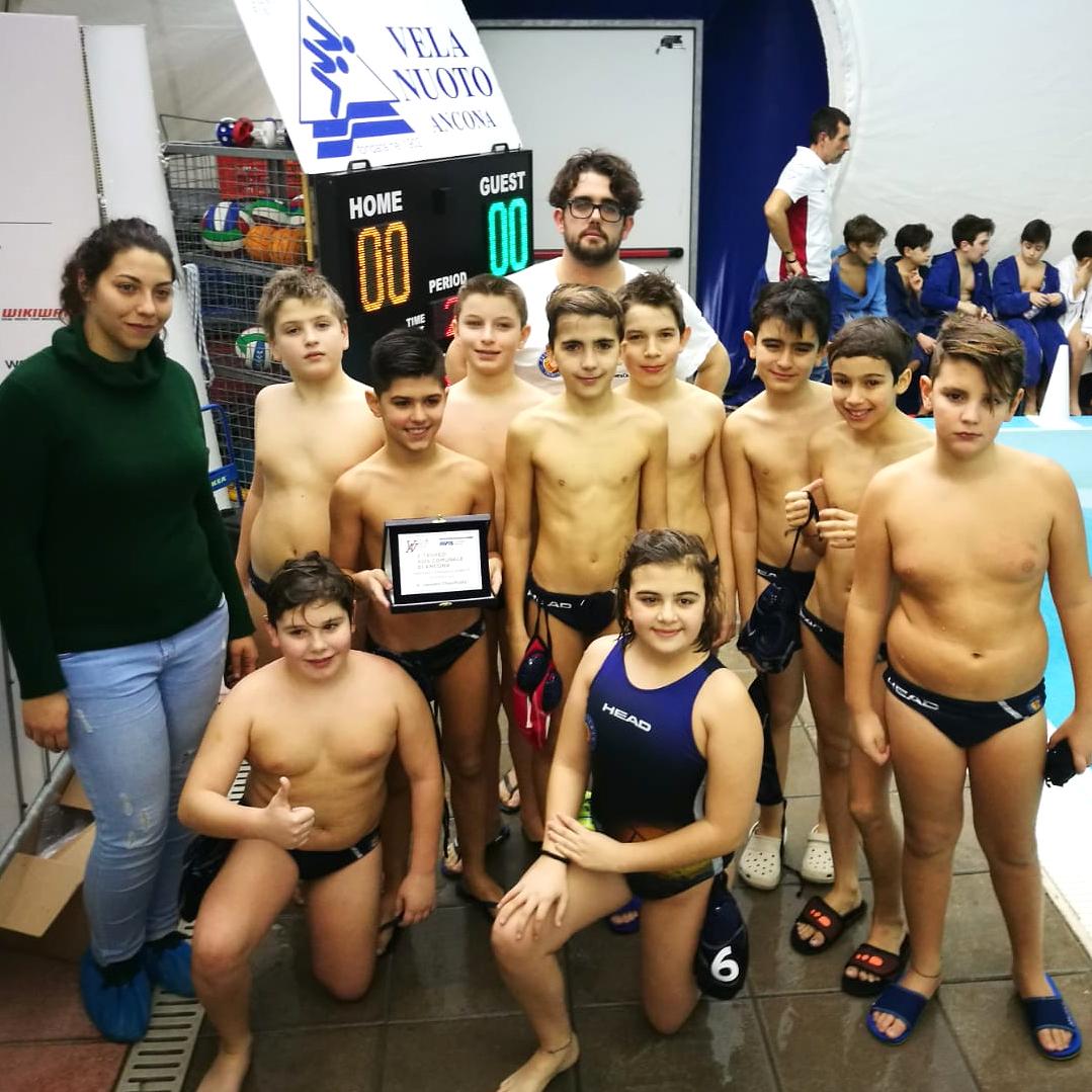 Under 11: due squadre della Pallanuoto Trieste al Torneo Avis di Ancona, buoni risultati e tanti miglioramenti
