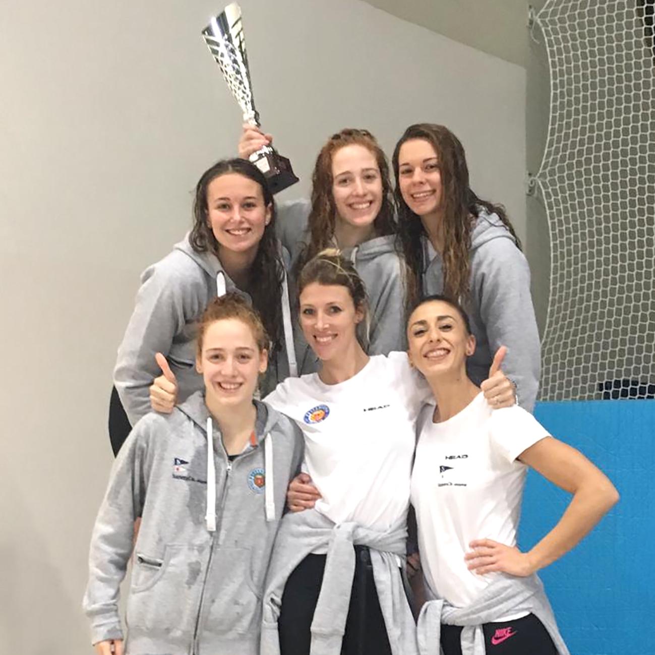 Pallanuoto Trieste scatenata! Vittoria nella Coppa Brema femminile, terzo posto nella classifica maschile