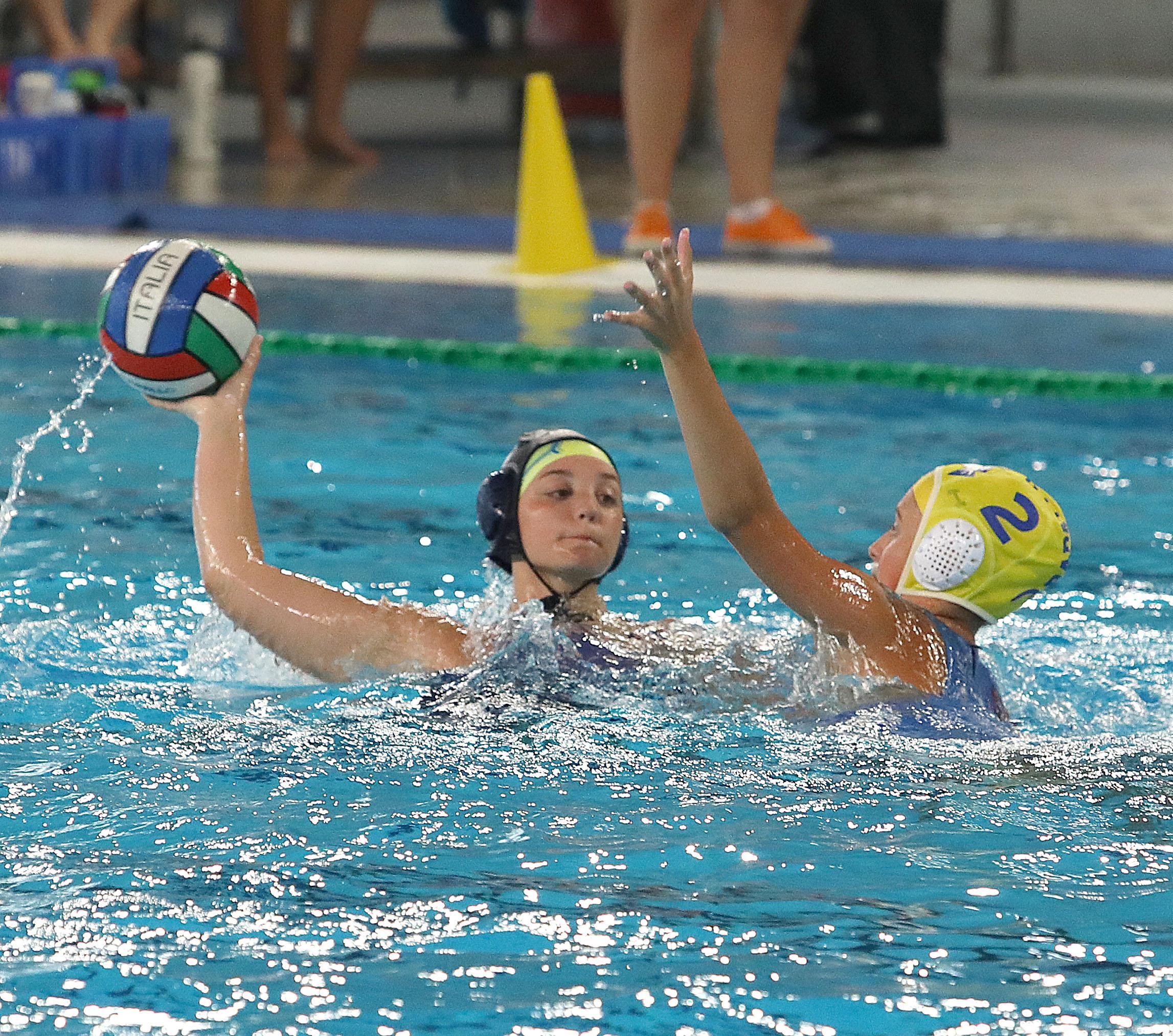 Under 15 femminile: finali scudetto, in semifinale il Rapallo supera la Pallanuoto Trieste (10-5). Adesso la finale per il bronzo