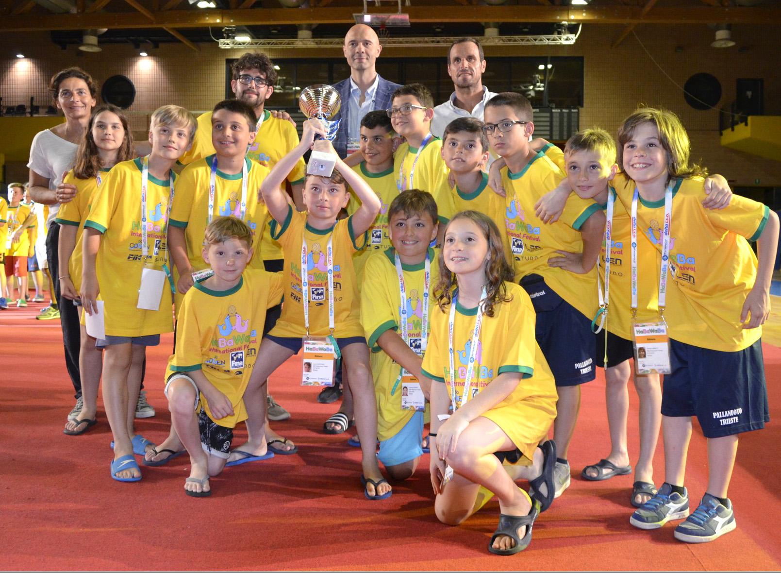 Under 11: HabaWaba Festival con due squadre della Pallanuoto Trieste. Top Players tra le prime 32 del torneo