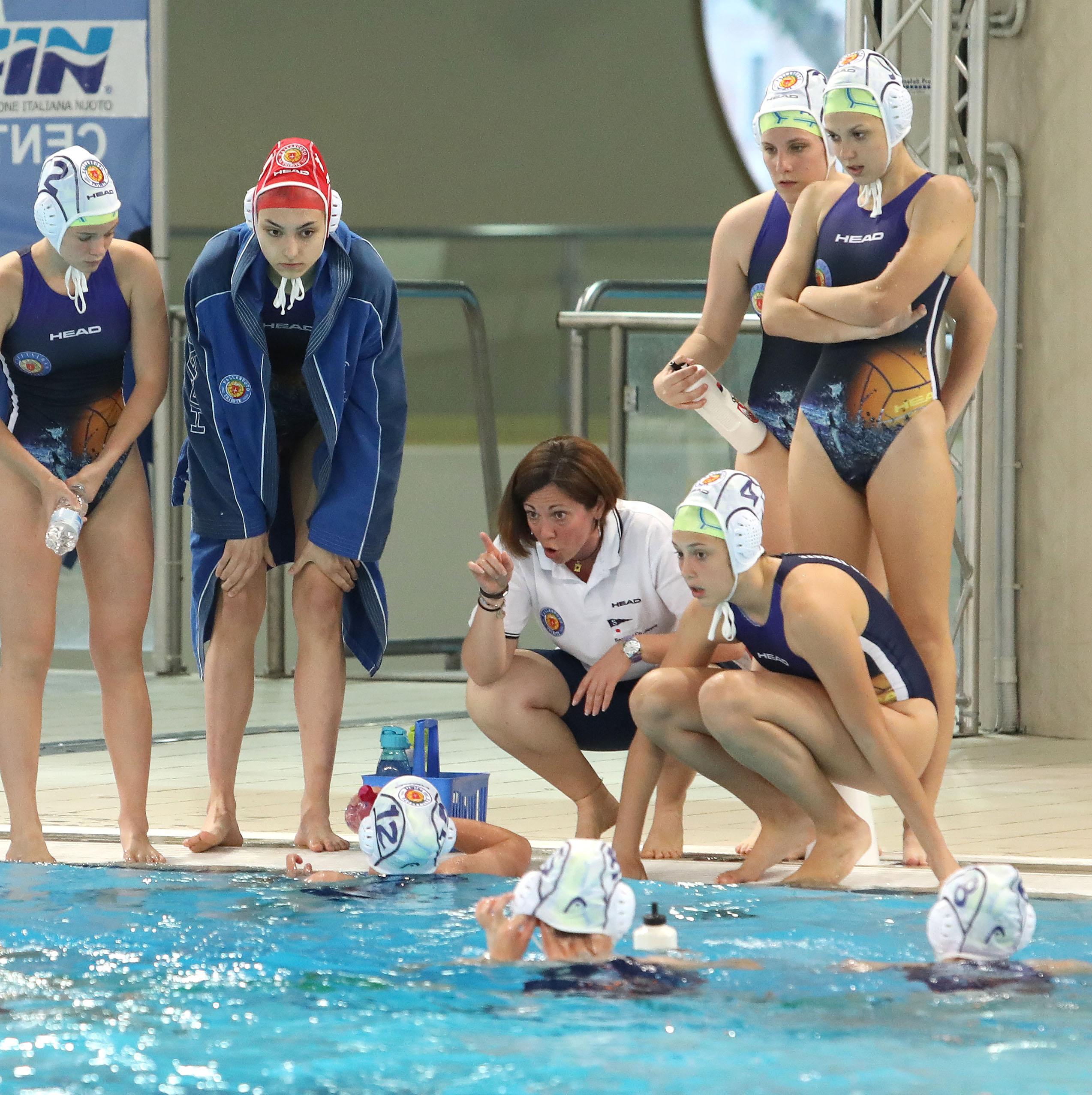 Under 19 femminile: finali scudetto, nei quarti di finale l'Orizzonte Catania ferma la Pallanuoto Trieste (8-3)