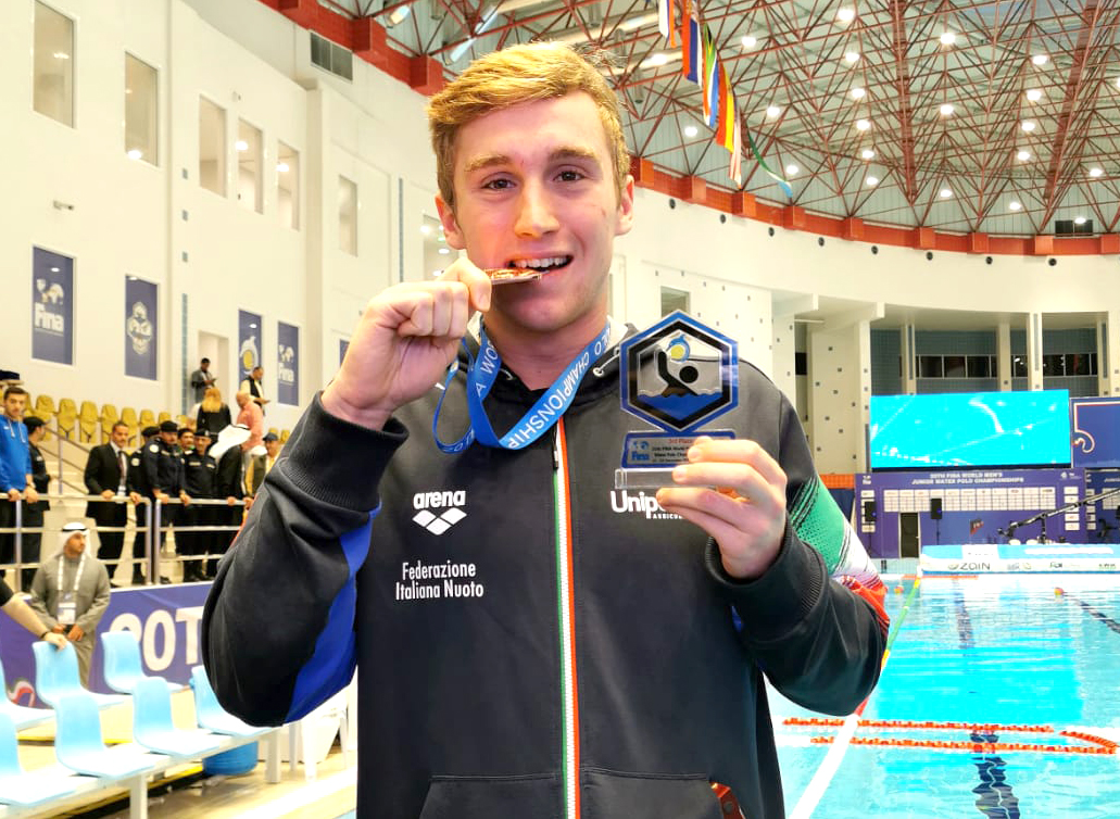 """Under 20: Italia bronzo al Mondiale di Kuwait City. Michele Mezzarobba: """"Soddisfazione enorme"""""""