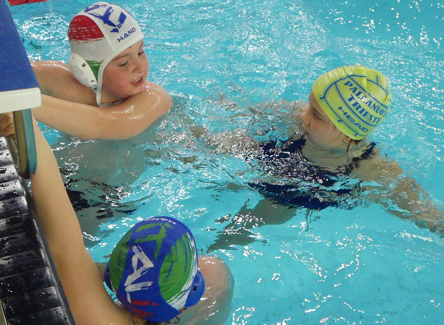 Ritorno in acqua per le squadre Under della Pallanuoto Trieste!