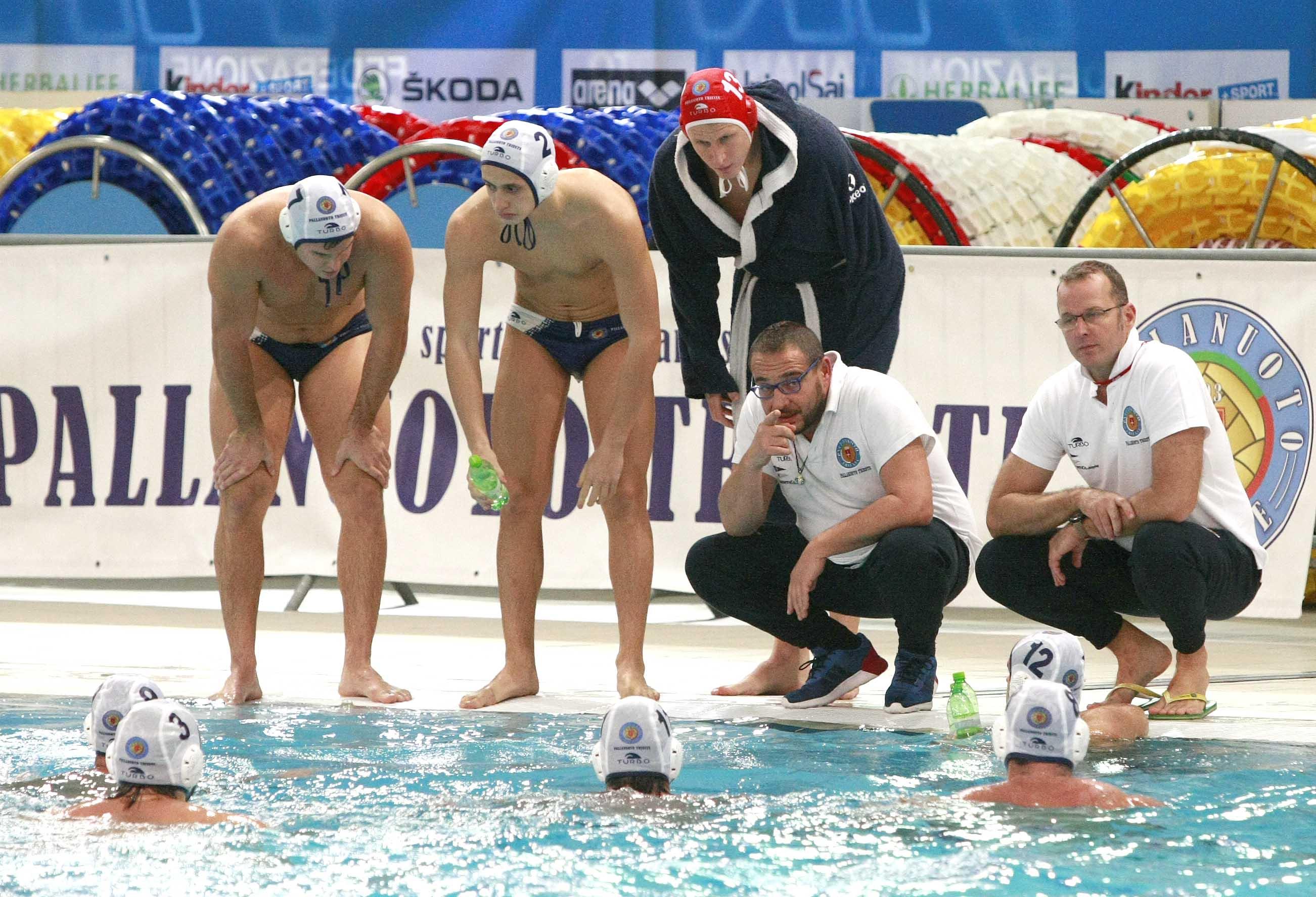L'An Brescia di Sandro Bovo è troppo superiore. La Pallanuoto Trieste si arrende (7-1) sul campo dei fortissimi vice-campioni d'Italia