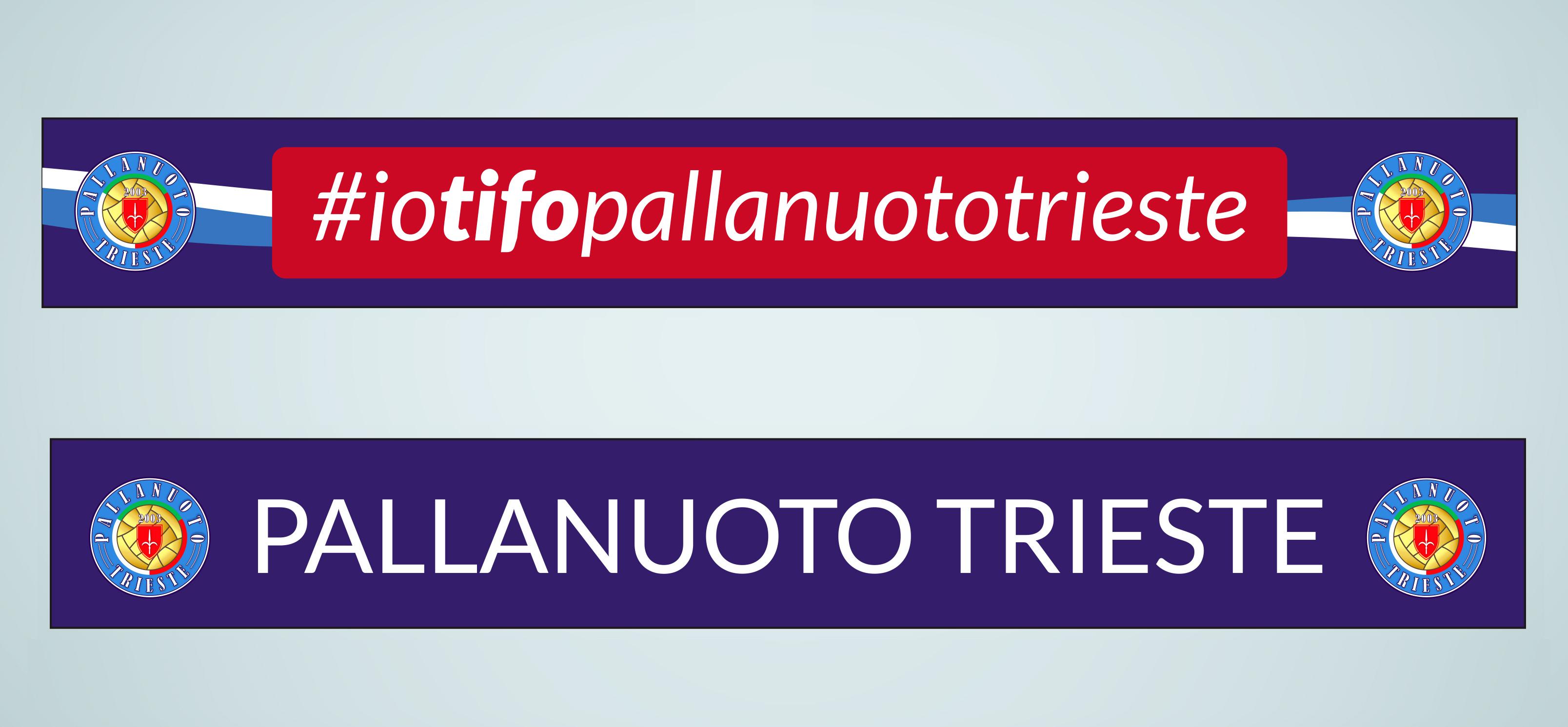 """Parte il merchandising ufficiale della Pallanuoto Trieste. Sabato alla """"Bruno Bianchi"""" prima della partita in vendita magliette, sciarpe e tanto altro"""