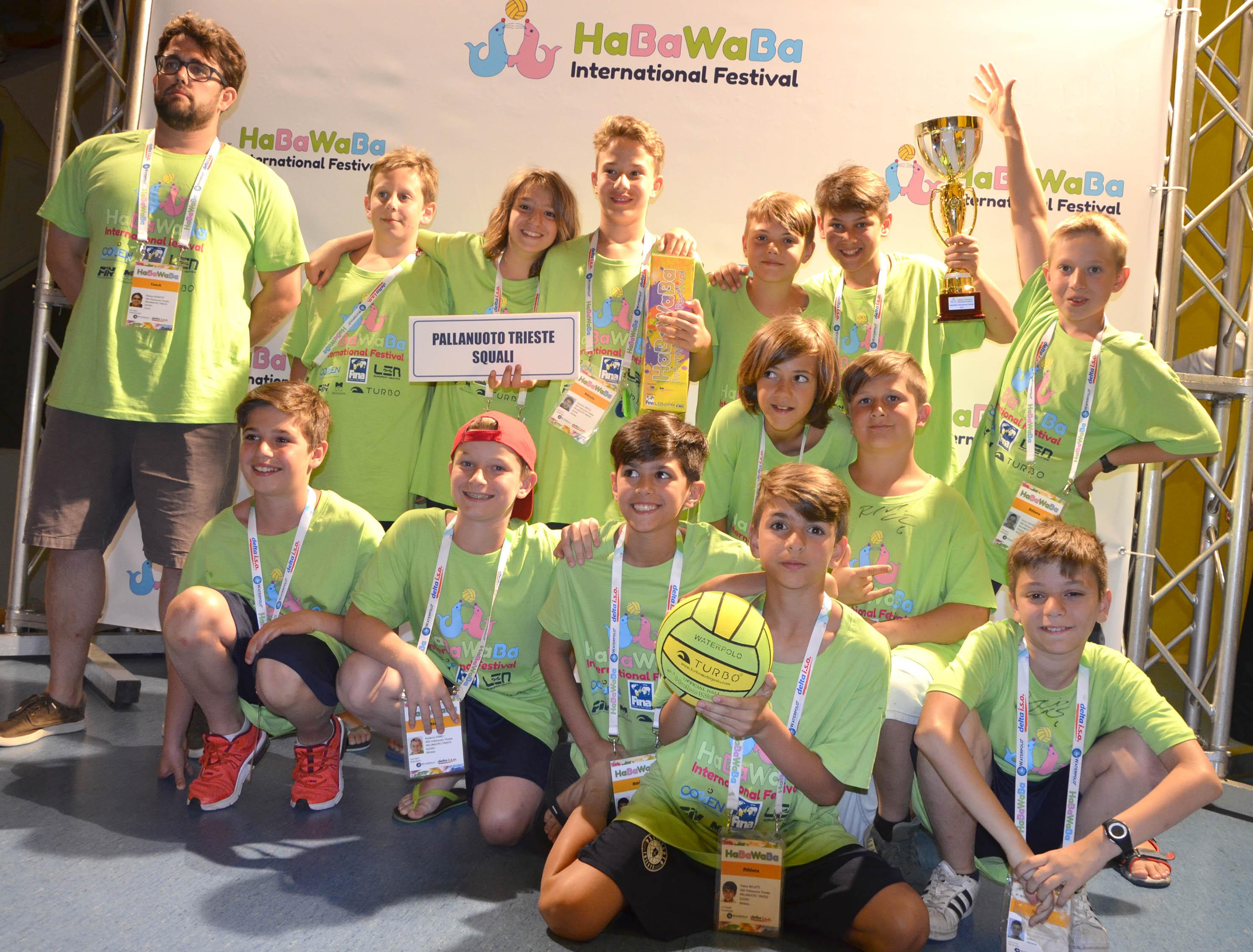 Under 11: il resoconto dell'Haba Waba Festival di Lignano. Una settimana super per gli atleti della Pallanuoto Trieste