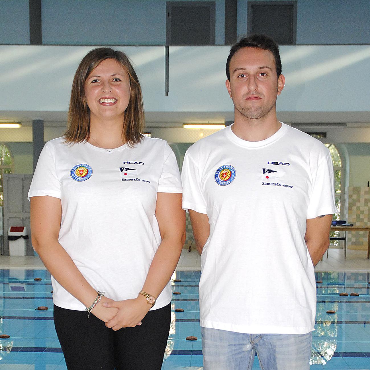 Ecco lo staff del nuoto agonistico della Pallanuoto Trieste. Tante conferme e alcune novità, su tutte l'olimpionica azzurra Stefania Pirozzi