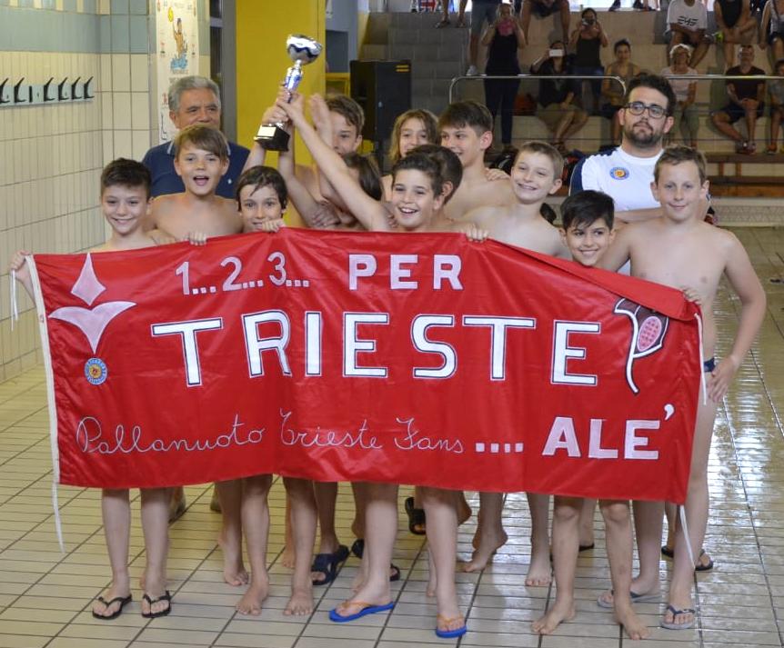 Under 11: due squadre della Pallanuoto Trieste al torneo di Osimo, arriva un secondo e un settimo posto